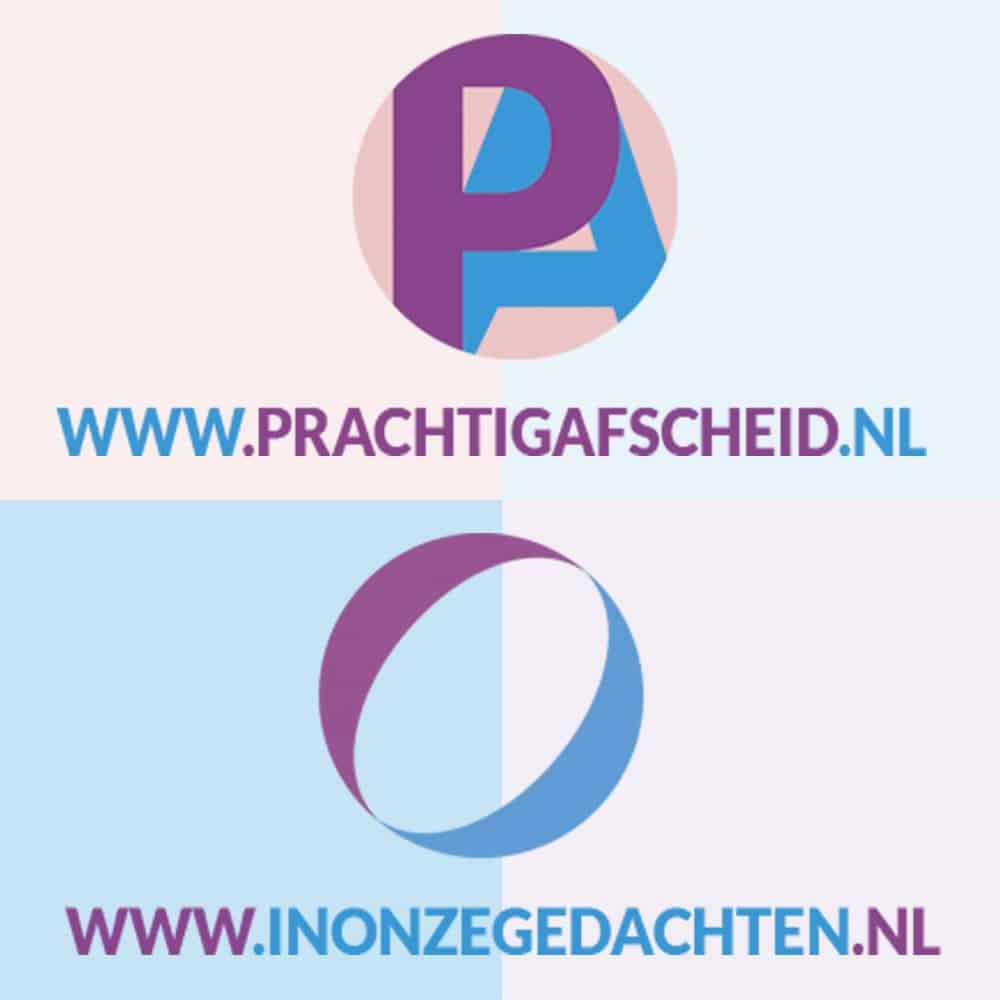 2 logo's vierkant